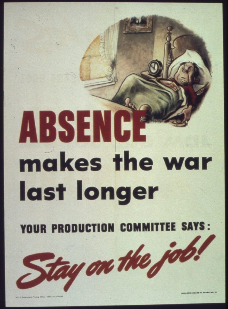 Absence makes the war last longer
