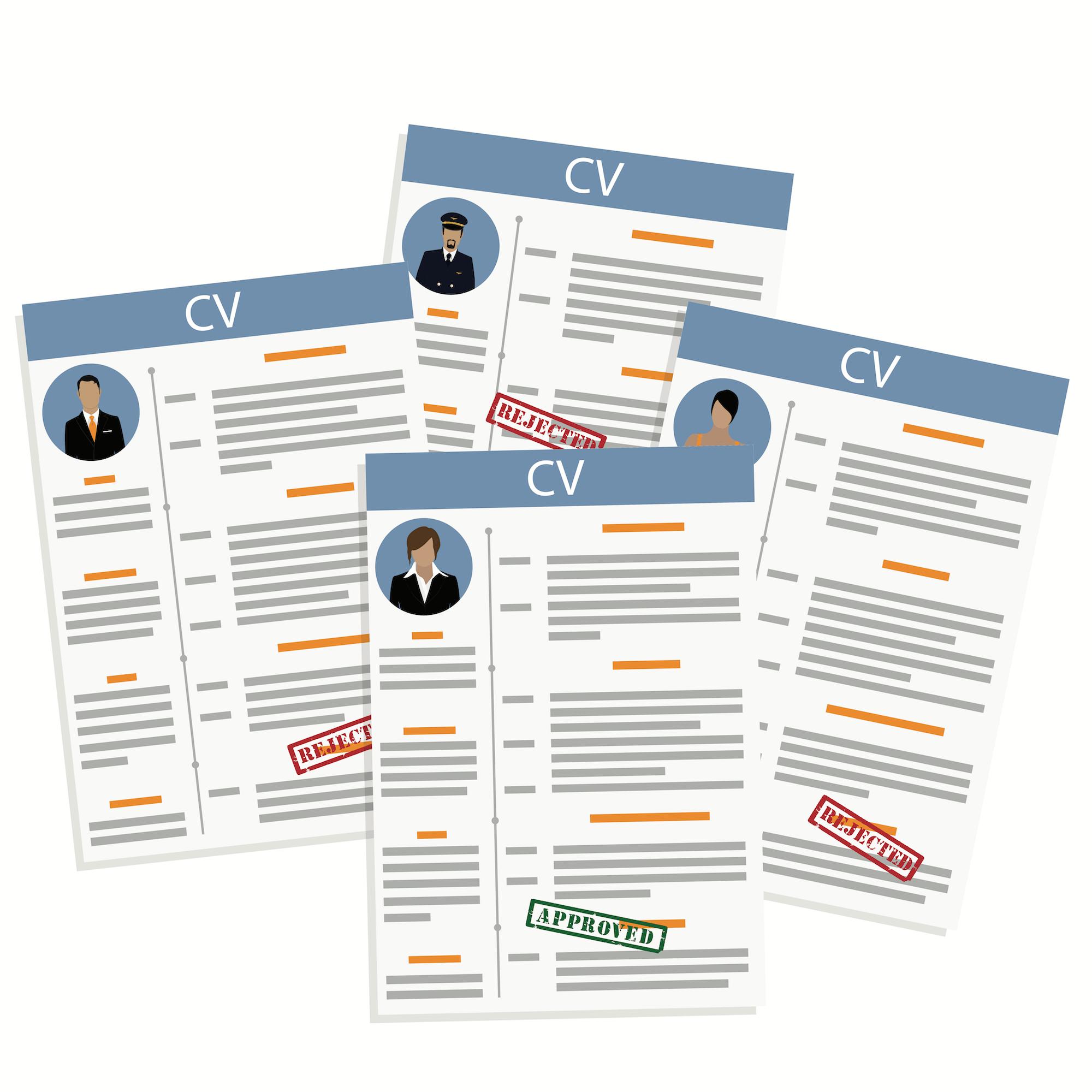 image sorting CVs ATS recruitment software