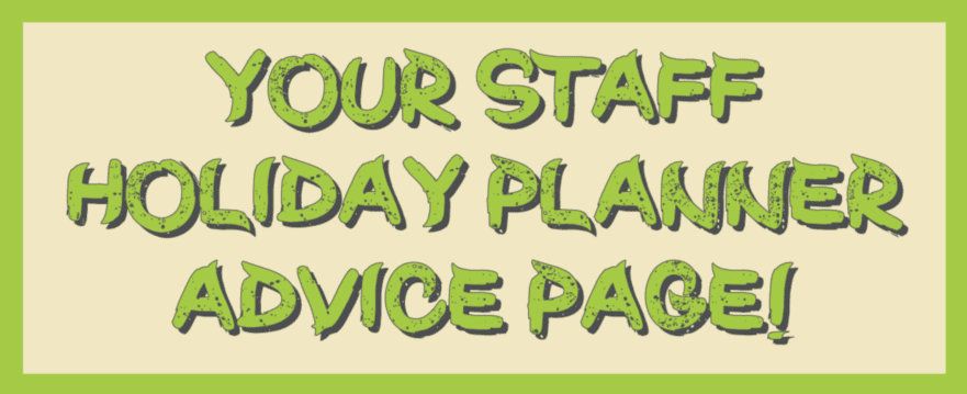 image for infographic blog post about staff holiday planner systems