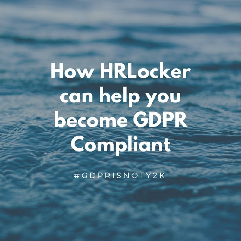 image for blog post about HR software and GDPR