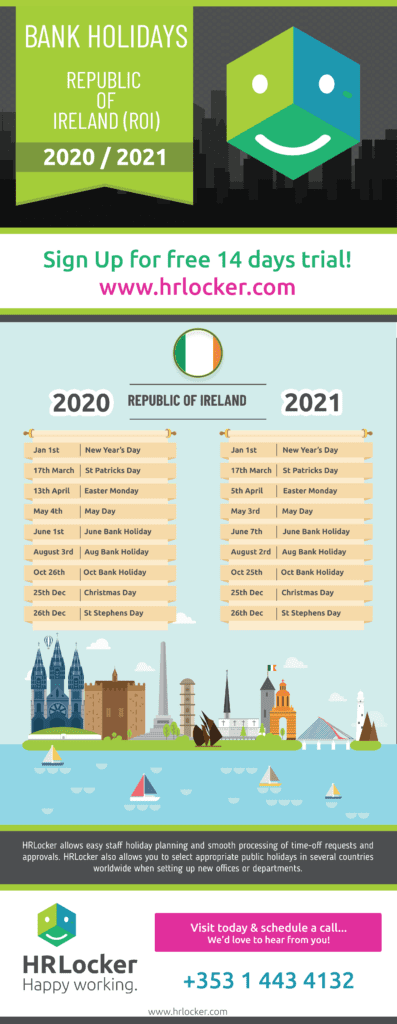 Public Holidays for the UK and Northern Ireland for 2020/2021