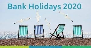 bank holidays page header
