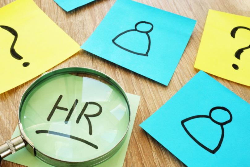 Highlighting the word HR