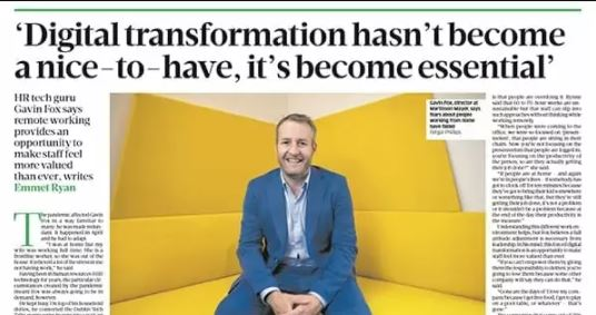 'Digital transformation hasn't become a nice-to-have, it's become essential' - Business Post