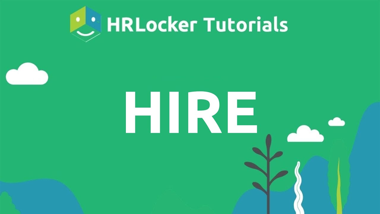 Hire - HRLocker's Applicant Tracking System