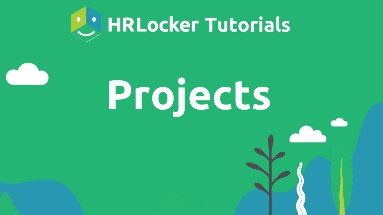 Project Management in HRLocker