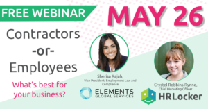 Webinar - Contractors or Employees? What's best for your business?