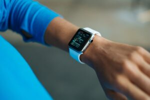 Time and attendance systems app on smart watch