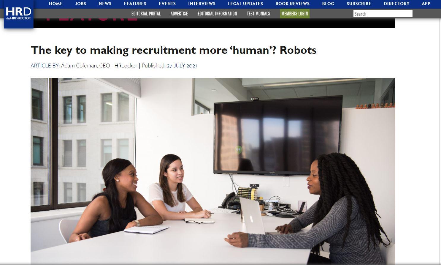 The key to making recruitment more 'human'?