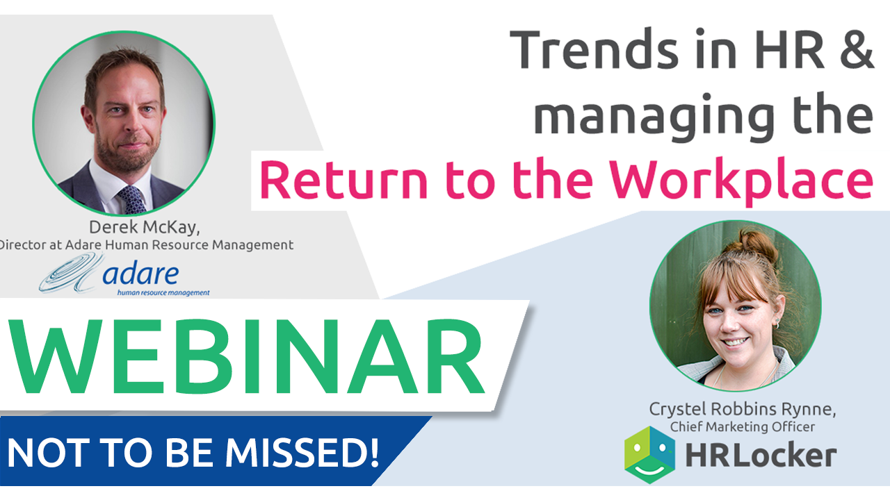 Trends in HR and Managing the Return to the Workplace