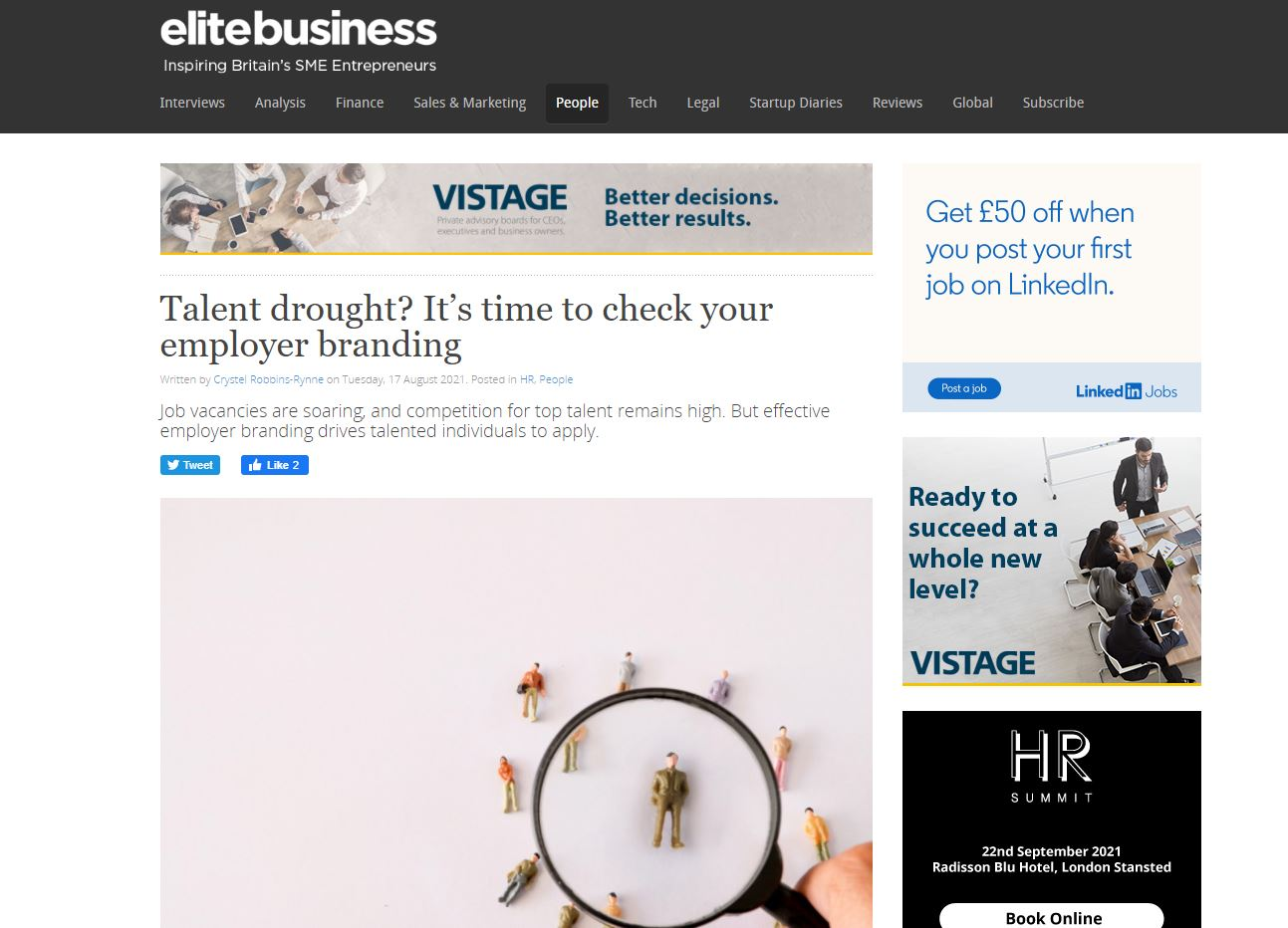 Talent drought? It's time to check your employer branding